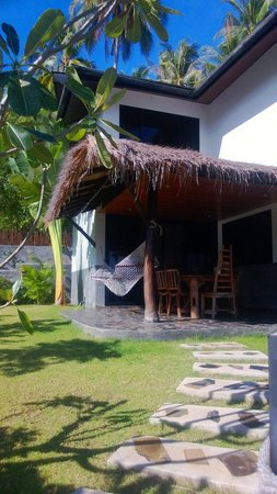 Koh Tao Heights Boutique Villas : Balcony area