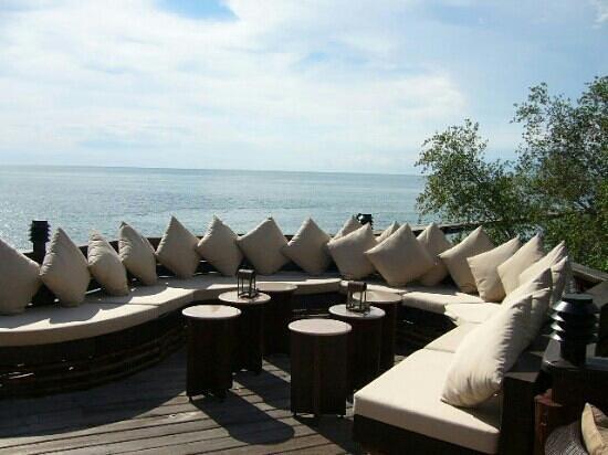 โรงแรมปารดี: sunset bar outdoor