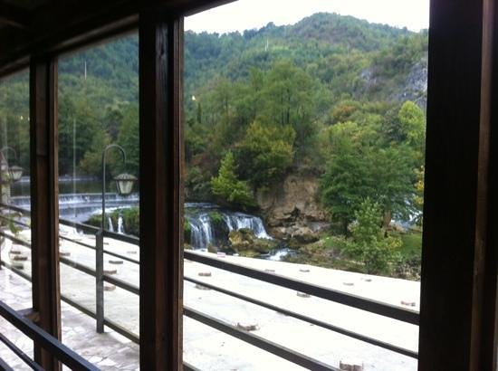 Hotel Kostelski Buk: view from the dining room