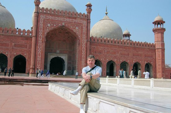 Badshahi Mosque: The view from me