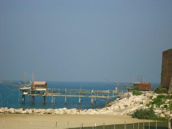 Hotel Santa Lucia: Vista sui trabucchi
