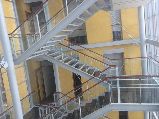 Savoy Hotel: Interior staircase
