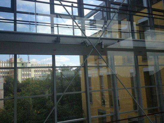 Savoy Hotel: Interiori steel structure