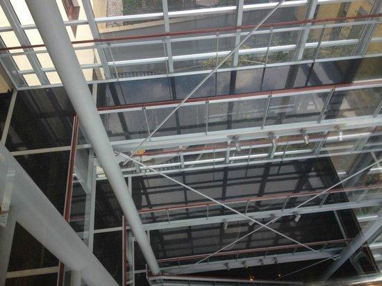 Savoy Hotel: Interior panoramic opening 2