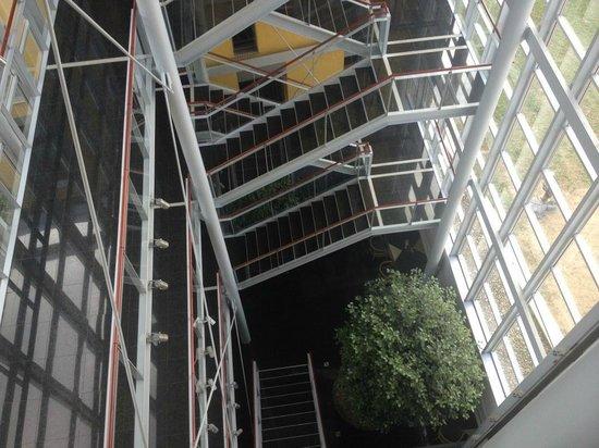 Hotel Savoy: Interior panoramic opening 3