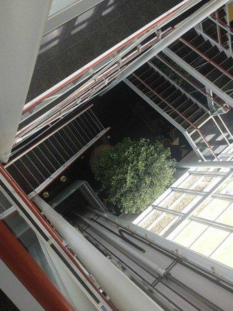 Savoy Hotel: Interior panoramic opening 1