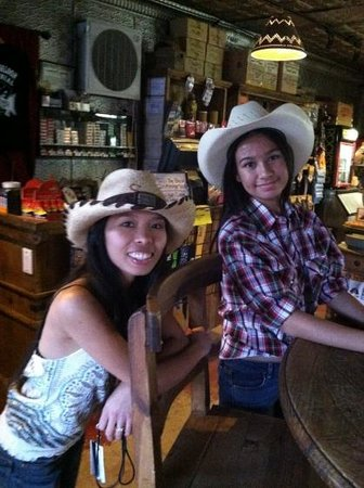 Pioneer Saloon: Cherry & Sarah Staff