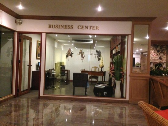The Tarntawan Hotel Surawong Bangkok: Business Centre