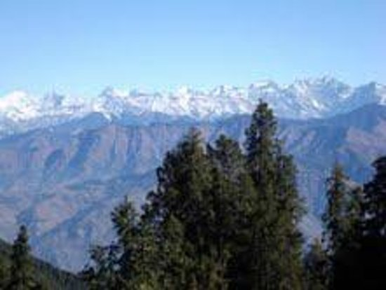 Dainkund Peak: dhouladhar range