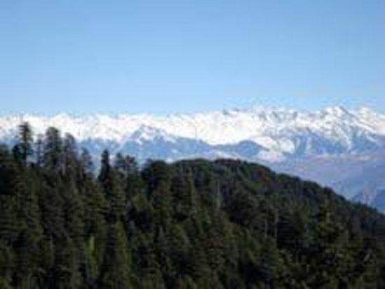 Dainkund Peak: douladhar range