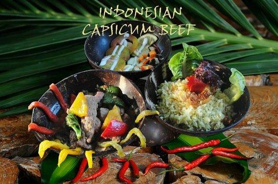 La Plage: INDONESIAN CAPSICUM BEEF