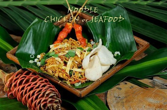 La Plage: NOODLE CHICKEN or SEAFOOD