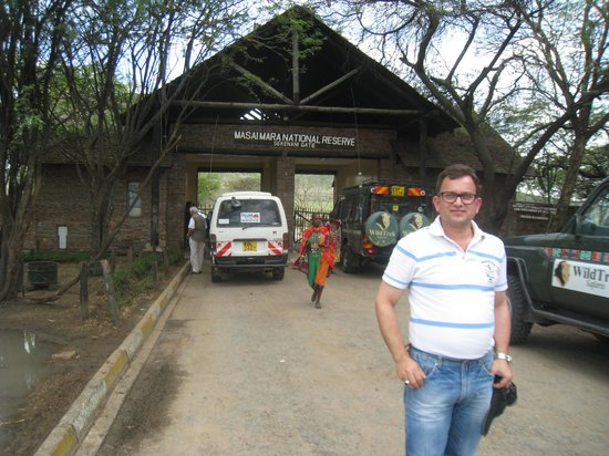 Keekorok Lodge-Sun Africa Hotels: Entrance Gate Of Masa Mara