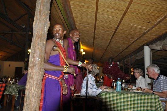 Sentrim Mara Camp: Masai Entertainment