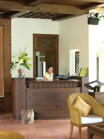 Le Vimarn Cottages & Spa: reception