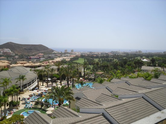 Gran Oasis Resort: VIEW FROM OUR ROOF TOP TERRACE