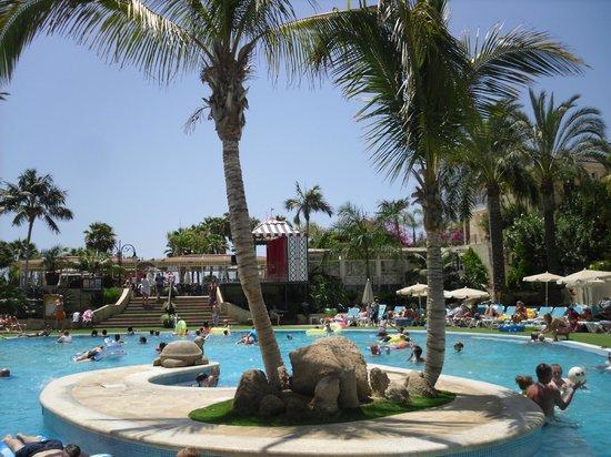 Gran Oasis Resort: POOL AREA