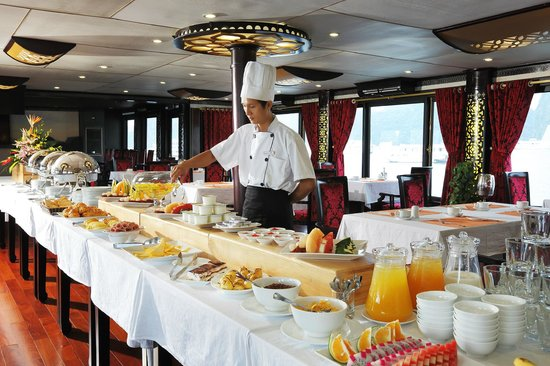 Starlight Cruise Halong Bay - Day Tour: Breakfast - buffet