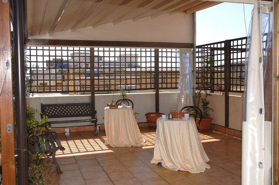 La Residenza Hotel: roof garden