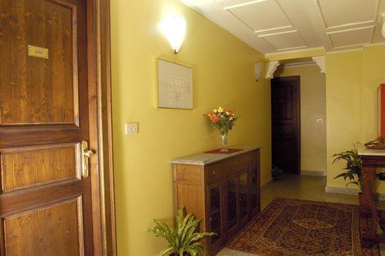 La Residenza Hotel: Corridoi camere