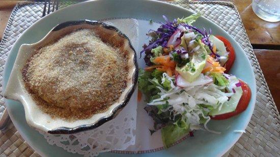 Le Mahogany: Coquille de crabe antillaise