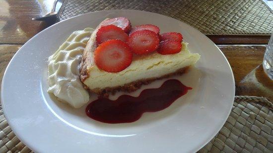 Le Mahogany: cheesecake fraise