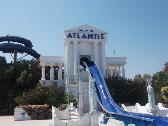 สวนน้ำวอเทอร์เวิลด์: Атлантис для троих