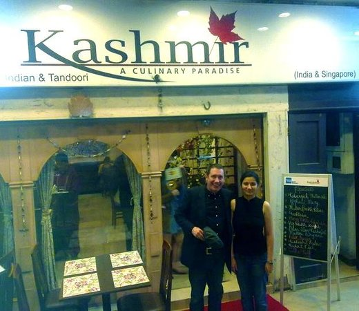 Mr. Jools Holland @ Kashmir Restaurant Singapore