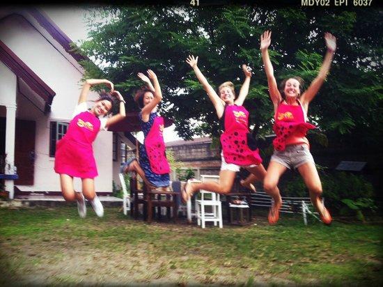 วีคุก ไทยโฮม การ์เดน คุกกิ้งสคูล: After food... Jump!!