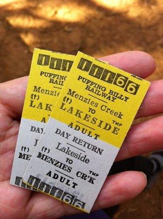 พัฟฟิ่งบิลลี่เรลเวย์: return ticket