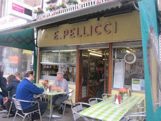 E Pellicci: The Outside