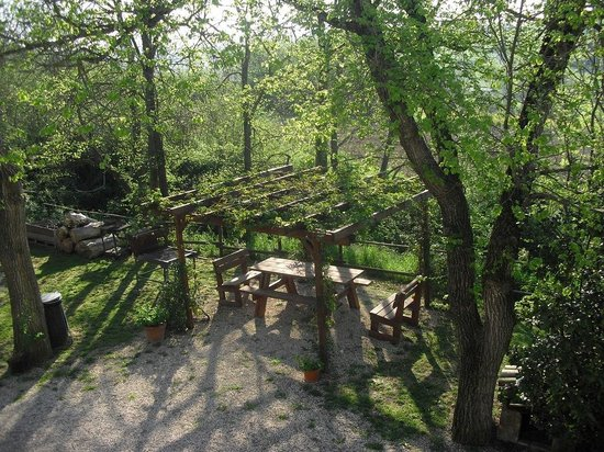 Bed & Breakfast San Marco: veduta sul gazebo