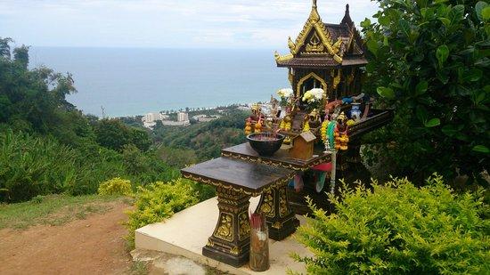 พระใหญ่เมืองภูเก็ต: Cafe view near Big Buddha