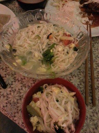 Jenny's Dumpling & Sushi: Special cook noodle