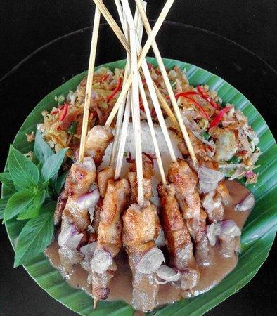 Asmara Restaurant & Lounge: Sate Ayam