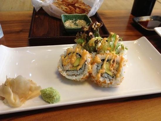 So Restaurant: the huge maki rolls!