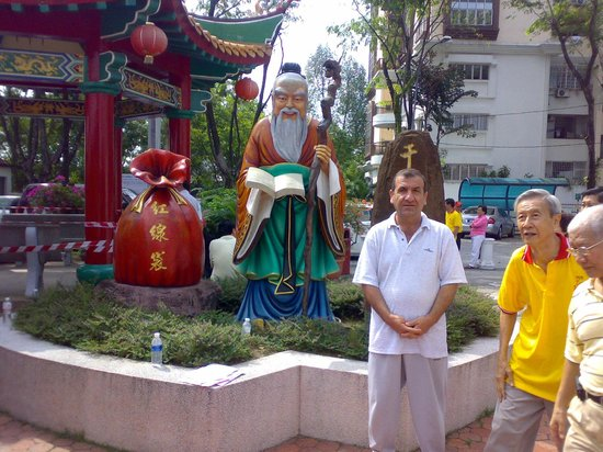 KLCC Park: Chinese Budha temple in KL,Malaysia.