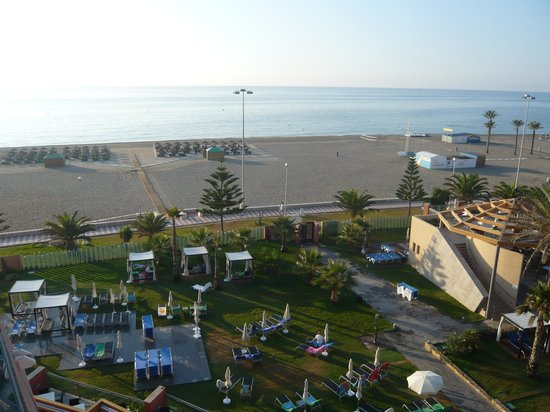 Protur Roquetas Hotel & Spa: uitzicht op de zee