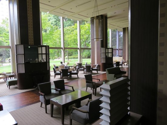 Grand Prince Hotel Takanawa : Lobby and garden