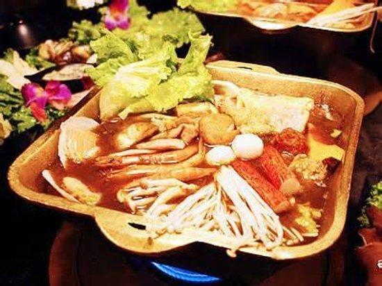 Dingshen Yuanyang Mala Hotpot: 特製鍋銅-單鍋