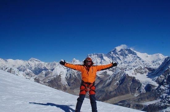 Trekking Team Pvt. Ltd. - Day Tours: on the Top of Mera, 6461 mts