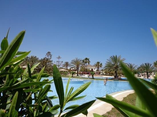 Djerba Plaza Hotel & Spa: Mai 2013 la piscine