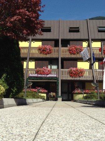 Centro Pineta Family Hotel & Wellness: cielo di settembre