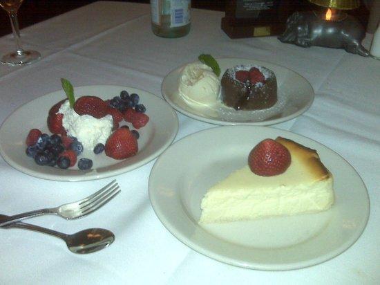 Morton's - The Steakhouse : Dessert