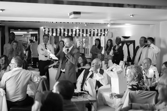 Butlers Restaurant & Bar: Best man's speech with slideshow
