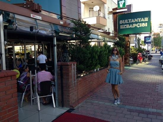Sultanyar Kebapcisi : Outside the Restaurant is outdoor seating