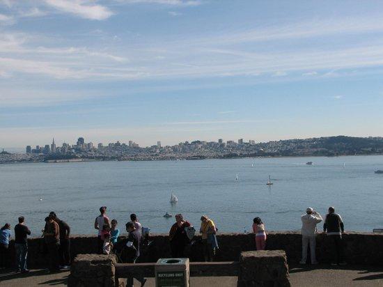 สะพานโกลเดนเกท: View of San Francisco from Golden Gate