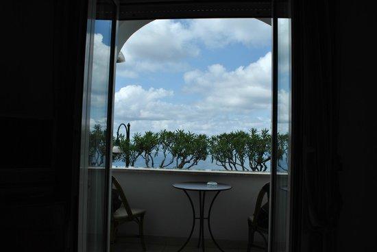 Hotel Capri: Vista dalla camera