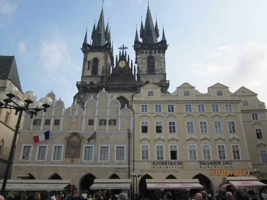 Old Town Square: old square