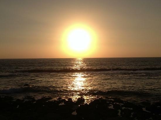 Hotel St. George: Fantastic sunsets
